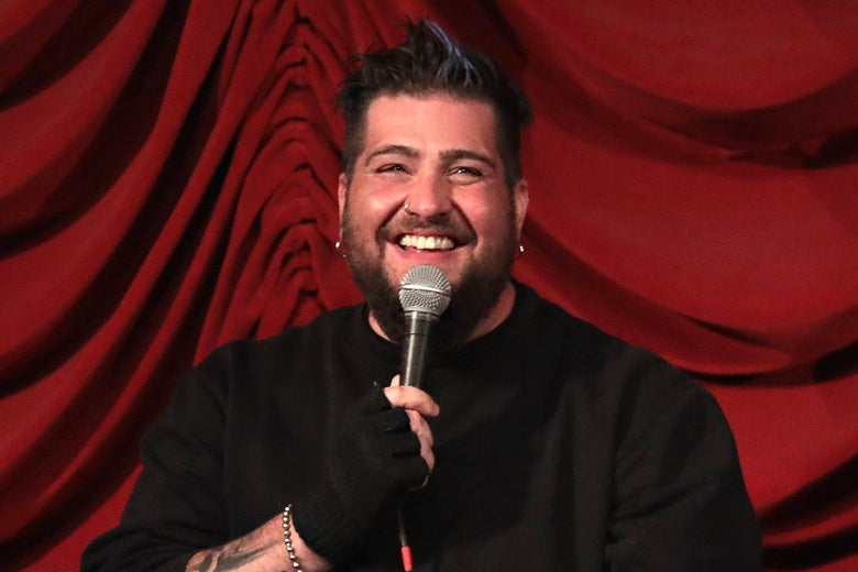 Big Jay Oakerson (of the Legion of Skanks) takes part in SiriusXM host Ron Bennington's annual Thanksgiving Special at Hard Rock Cafe on Nov. 14, 2017 in New York City.