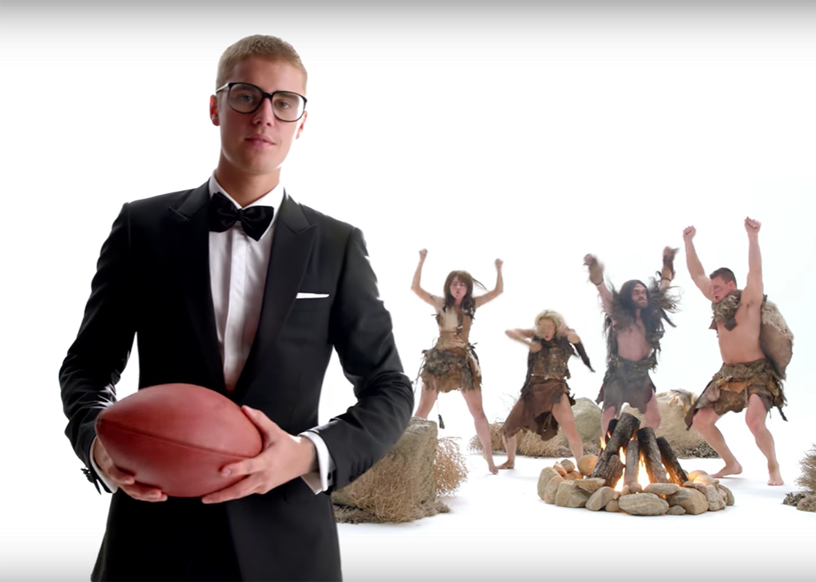 Justin Bieber in one of T-Mobile s spots. 0537027d2