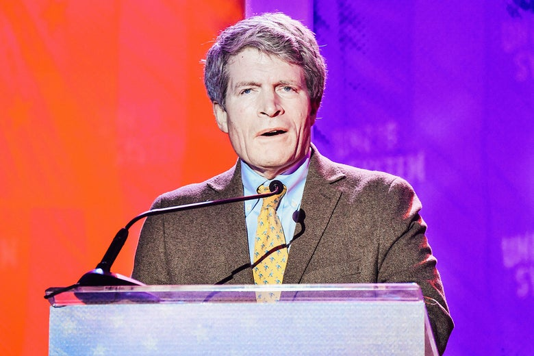 Professor Richard Painter speaks during Unrigged Live! presented by Represent.Us during the 2018 Unrig the System Summit at the McAlister Auditorium at Tulane University on February 3, 2018 in New Orleans, Louisiana. (Photo by Erika Goldring/Getty Images)