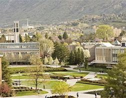BYU's north campus. Click image to expand.