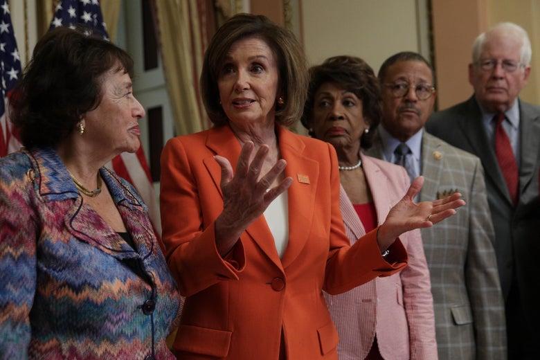Nancy Pelosi at the Capitol on June 5.