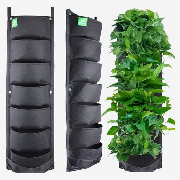 Meiwo 7-Pocket Hanging Vertical Garden Wall Planter