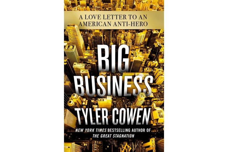 Book cover for Big Business.