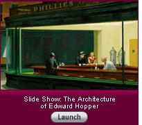 Click here to launch a slide show about the architecture of Edward Hopper.