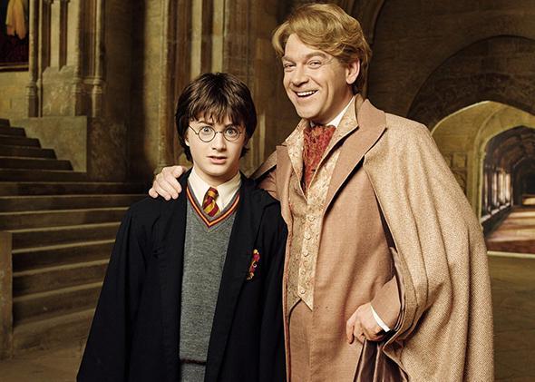 Harry Potter and Gilderoy Lockhart