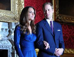 Kate Middleton and Prince William. Click image to expand.