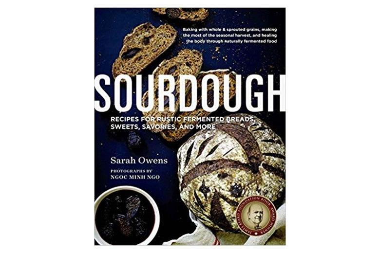 Sourdough book cover.