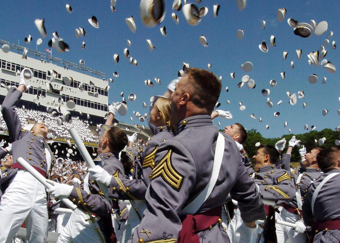 Cadets of the U.S. Military Academy Class of 2004