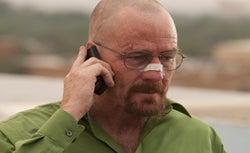 Bryan Cranston as Walter White in Breaking Bad.