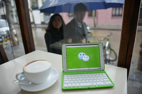Tencent's Wechat: Worldwide Internet users are voluntarily
