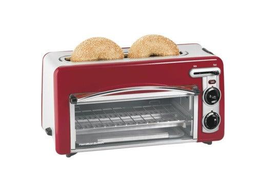 Hamilton Beach Toastation toaster and oven.