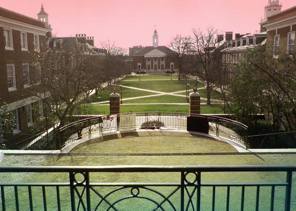 Johns Hopkins campus.