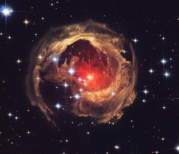 V 838 Monocerotis