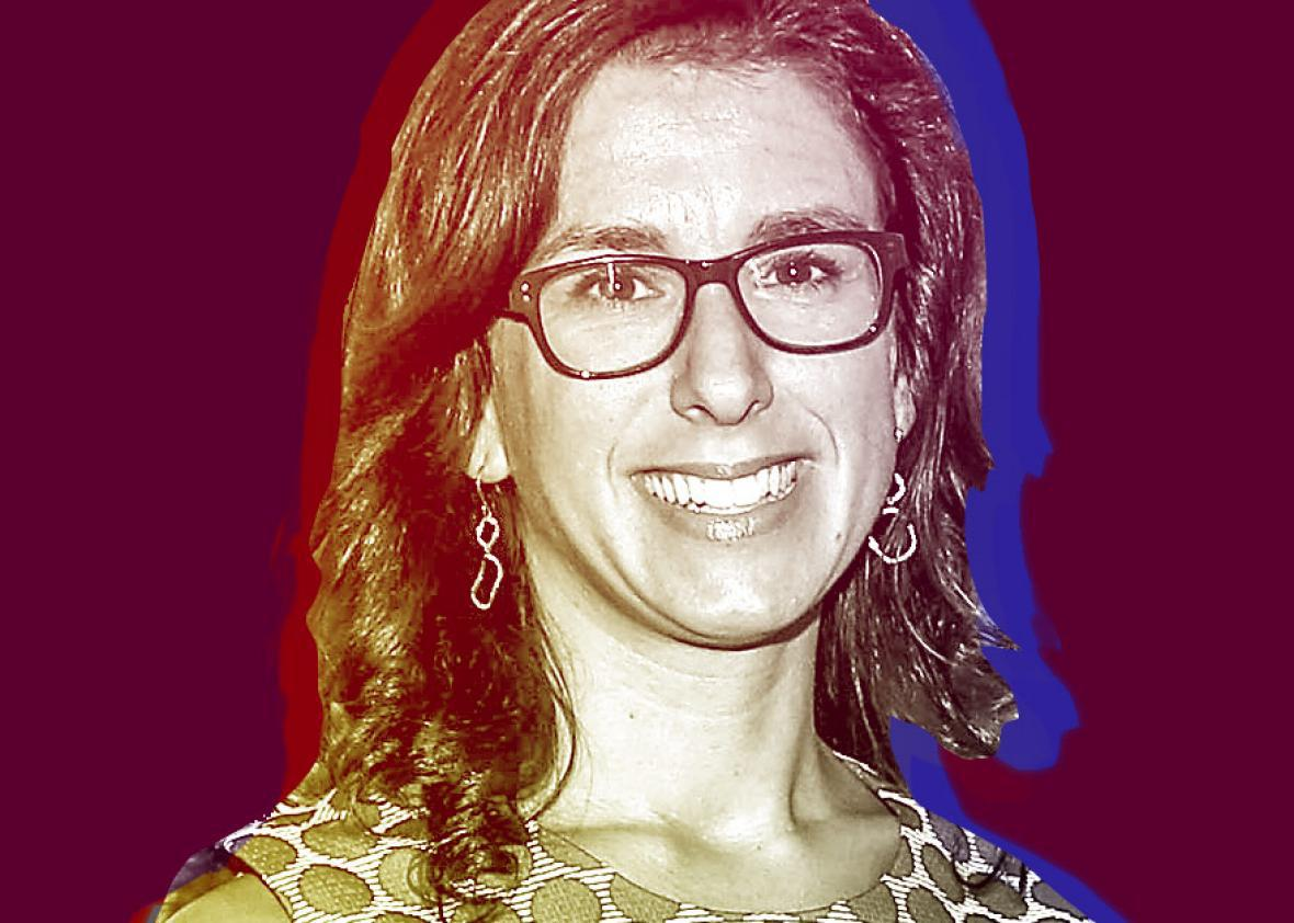 The New York Times correspondent and author, Jodi Kantor at The French Institute on August 19, 2014 in New York City.