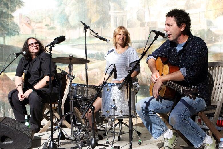 James McNew, Georgia Hubley and Ira Kaplan of Yo La Tengo.