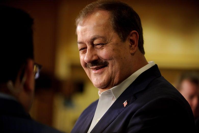 Racist Ex-Convict Coal Baron Enters Presidential Race