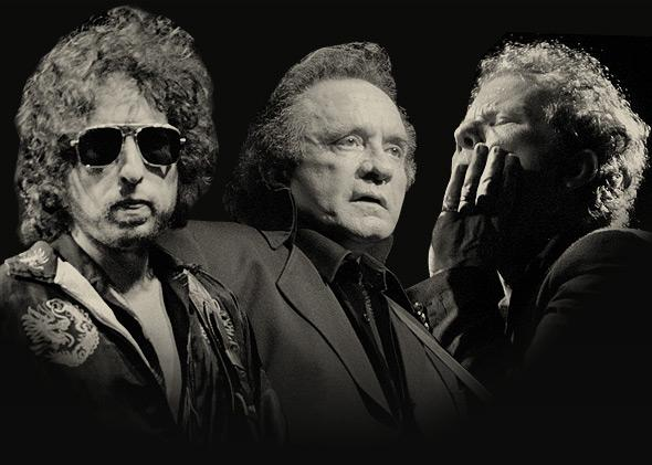 Bob Dylan, Johnny Cash, Tom Waits, and others: How they