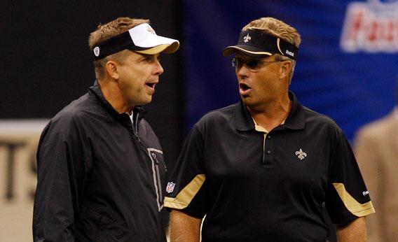Sean Payton and Gregg Williams