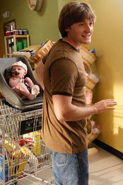 """Jimmy (Lucas Neff) in """"Raising Hope."""" Click image to expand."""