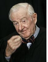 Justice John Paul Stevens. Click image to expand.