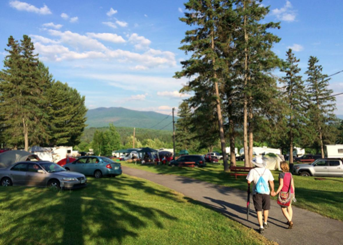 Over 1,500 libertarians arrive for the Porcupine Freedom Festival, one of the largest libertarian gatherings in the world in Lancaster, NH.