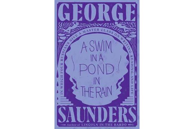 Book cover of A Swim in a Pond in the Rain.