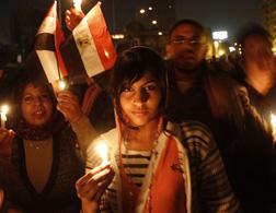 Protest in Egypt. Click image to expand.