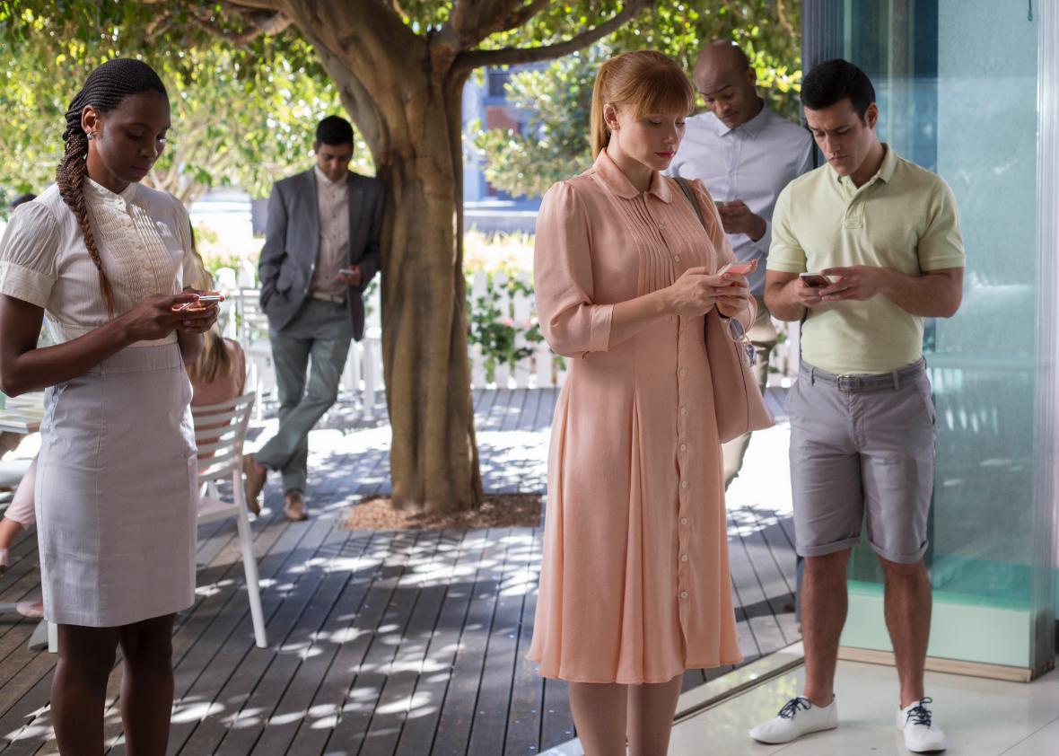 Bryce Dallas Howard in Season 3 of Black Mirror.