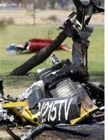 Helicopter crash. Click image to expand.