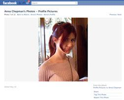 Accused Russian spy Anna Chapman. Click image to expand.