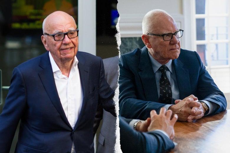 Rupert Murdoch, and Malcolm McDowell as Rupert Murdoch