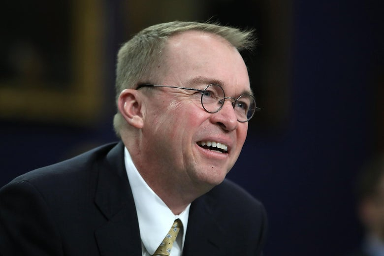 Office of Management and Budget Director Mick Mulvaney testifies during a House Appropriations Committee hearing on Capitol Hill, April 18, 2018 in Washington, D.C.