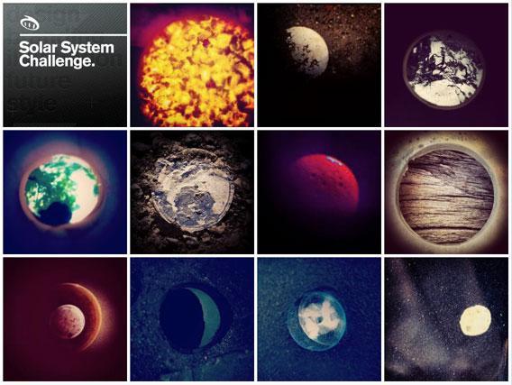 Solar system challenge
