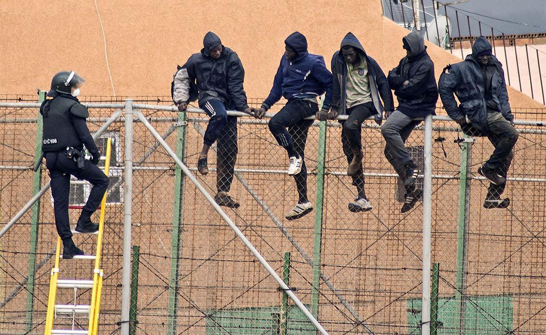 Feb. 19, 2015: Melilla, Spain