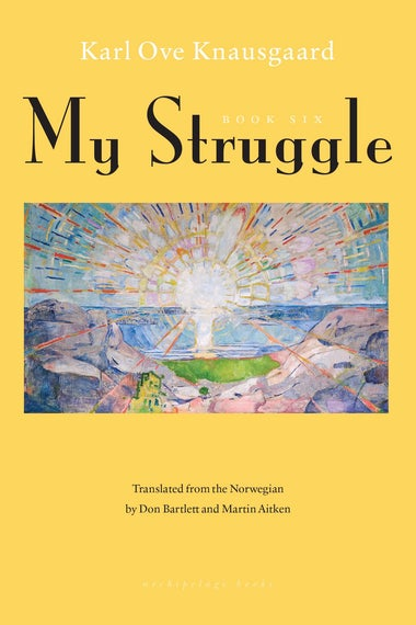 My Struggle Book 6 cover.