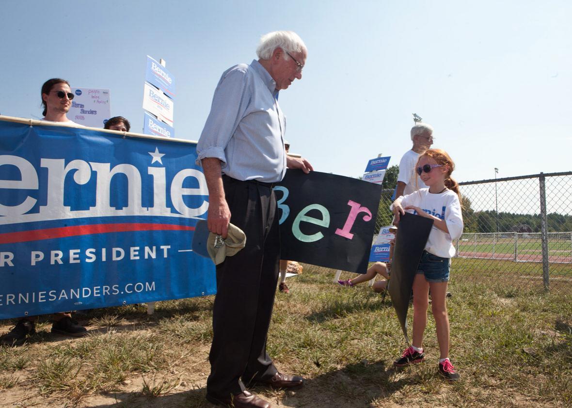 How Did Bernie Sanders' Latest Political Manifesto Become a YA Best-seller?