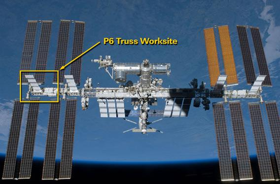 location of coolant leak on ISS
