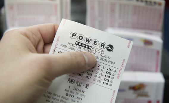Powerball ticket