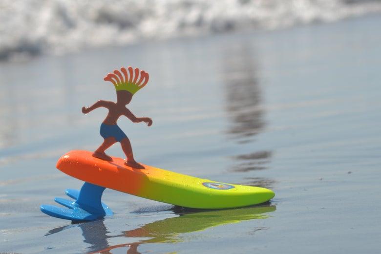 Surfer Dude on the beach