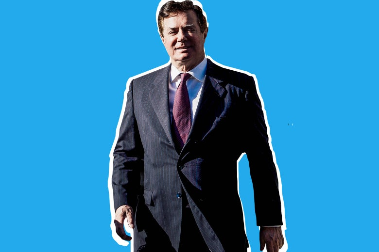 Photo illustration of Paul Manafort