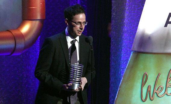 Nate Silver attends the 16th Annual Webby Awards.