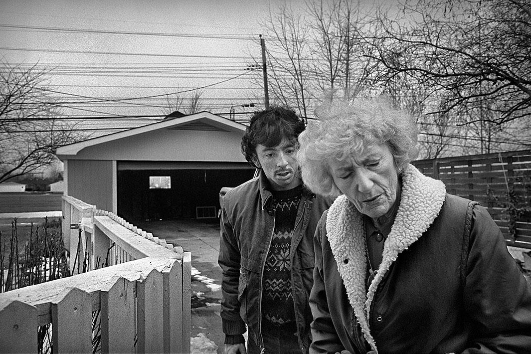 Detroit, 1987, with Bob