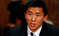 University of California at Berkley Law Professor Goodwin Liu. Click image to expand.