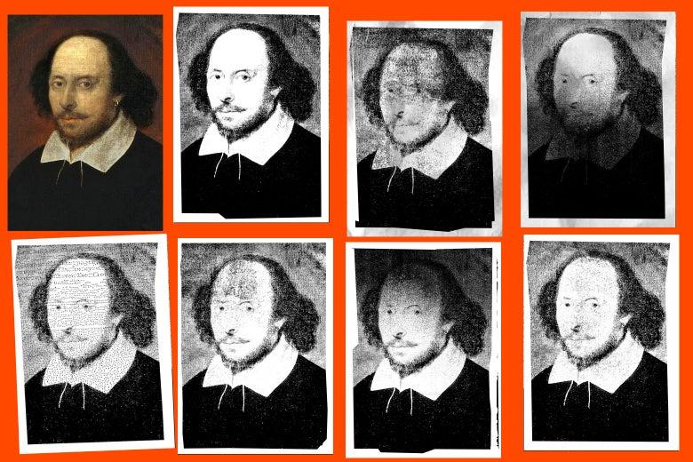 Copies of Shakespeare.