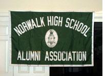 Norwalk High School alumni flag