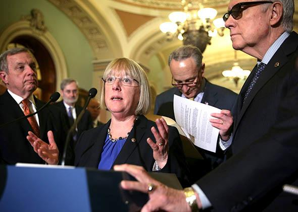 U.S. Sen. Patty Murray.