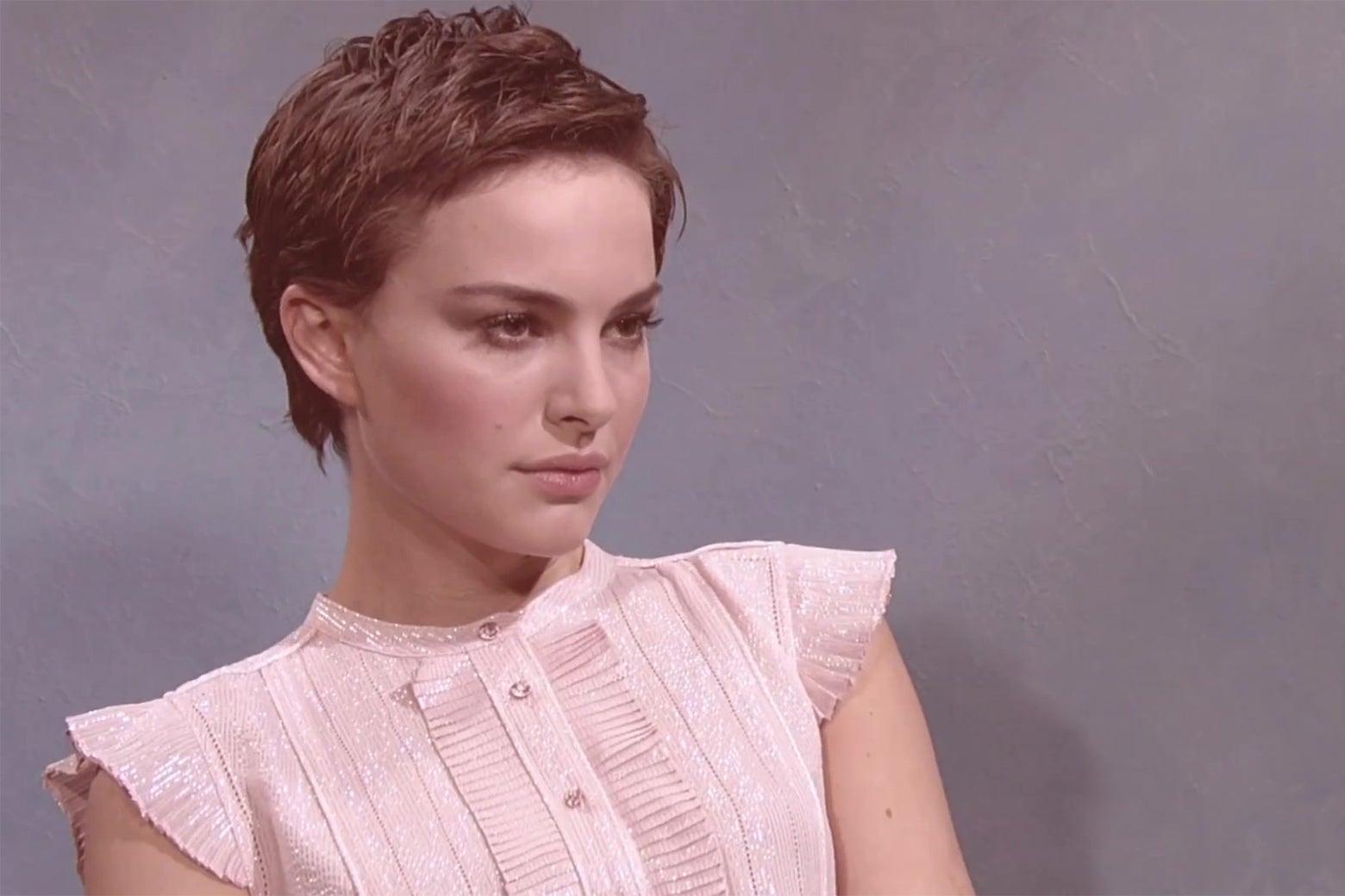 Natalie Portman, Saturday Night Live's second-favorite Natalie.