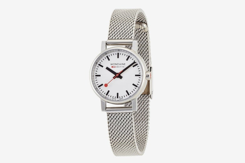 Mondaine Women's Quartz Evo Steel-Band Watch