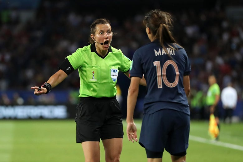 Because It's the Women's World Cup, the U.S. and France Both Got Jobbed by the Refs