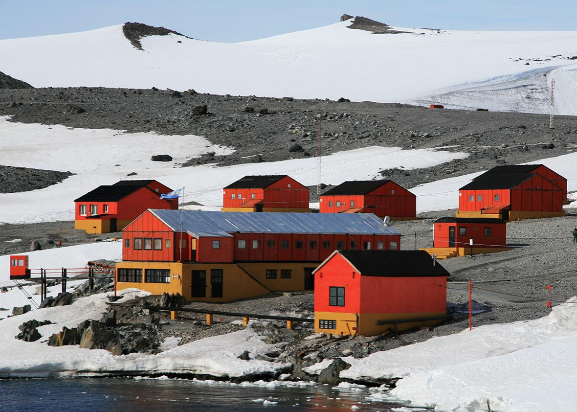 Argentine Antarctic research station.